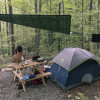 Hike In Tent Camping