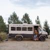 Sleeps in a Hippy Bus