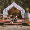 Glamping Tents on 80 Acre Ranch