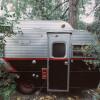 Vintage Trailer in Forest Falls