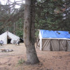 Outfitted CAMP OPEN FOR SEASON