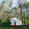 Adirondack FarmStay Yurt in Jay