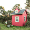 Windy Hollow Farm Red Camping Cabin