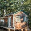 Backyard Cabin on Urbanish Farm