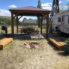 Coral Pink Ranch Cowboy Camper