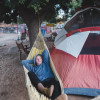 Camping with Rescue Animals