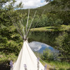 Feathered Pipe Tipis