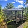 Adjacent Hammock Glamping Cabanas