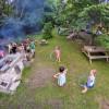 Suburban Woodland Campsite
