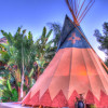 Mystic Canyon Tipi Glamping for 2!