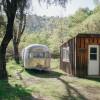 Airstream + Quercus Cabin