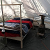 Lofted and Secluded Bell Tent