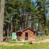 East West glamping cabin