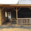 Big, unique barn cabin on 130 acres