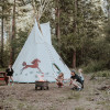 #1 Native Am. Hummingbird Teepee