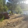 Private American River Camping