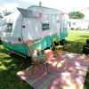 Vintage SHASTA RV near Sanibel!