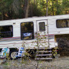 Creekside Vintage Camper for Fun