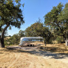 """Airstream """"Zeppelin"""" on 30ac Ranch"""
