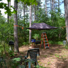 Unique secluded Tree Tent-sleeps 2