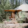 Yurt at Gaea Getaways Open April 5