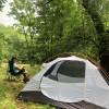 Lush Mountainside Tent Campsites