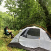 Lush Mountainside Tent Campsites