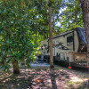 Homosassa Spring RV site with dock