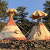 22ft&14ft Tipis at Bison Peak Lodge