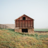 Hay loft in Montana