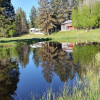 Best Riverfront Cabin on 8 acres.