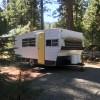 Vintage Trailer near Lassen NP