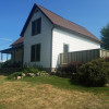 International view cozy farmhouse