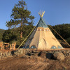22ft Tipi at Bison Peak Lodge