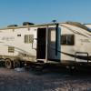Hook ups at OSR Campground