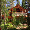 Donner Lake Log cabin MasterBedBath