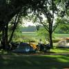 Full service tent sites