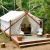 Glamping Tent with Beach Access