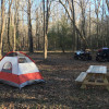 Camping and ATV trails at Pea Ridge