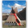 #4 Native Am High  Plains Tipi