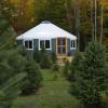 The Yurt at Tuckaway Tree Farm