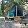 #9 Platform Canvas Tent on Creek
