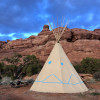 Tipi 2 at the Rocks