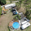 Cabin, Tents, RV's,  WiFi & Pool