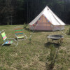 Bell tent with a view!