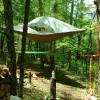 Suspended Sanctuary Tree Tent