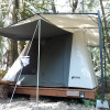 Rainforest glamping cabin tent 5
