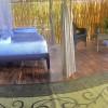 Luxury  Bamboo/  wood fired hot tub