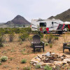 Lonesome Sombrero Tent Camping