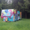 Hippie glamping by the creek